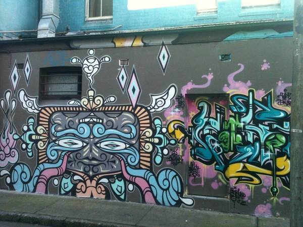 Remixx's flick on Newtown alley.