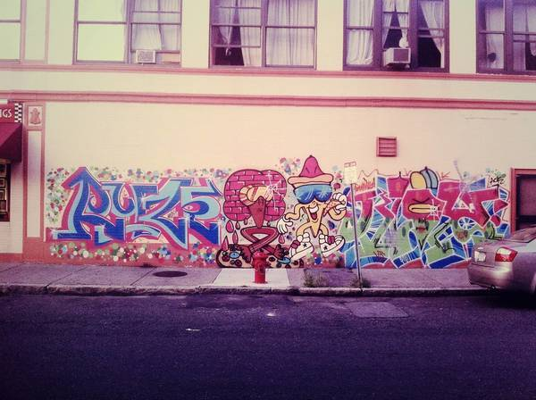 GW Team's flick on Sommerville graffiti.