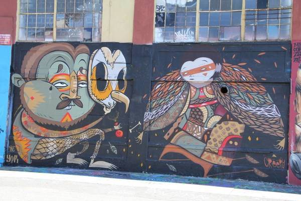 GW Team's flick on 5Pointz: The Institute of Higher Burnin'.