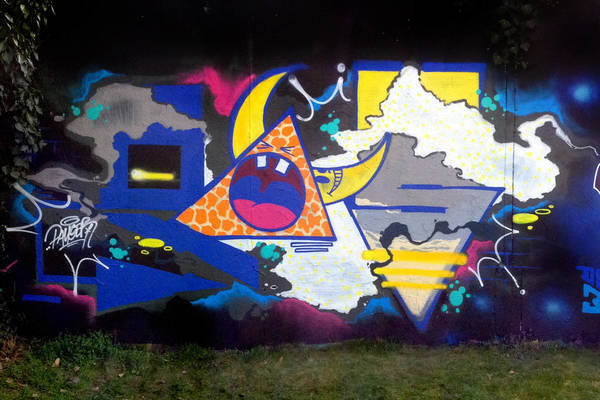 GW Team's flick on Graffiti wall Zenit - Olomouc.